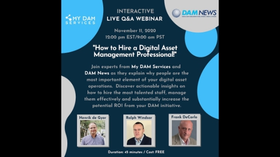 How to hire DAM pro